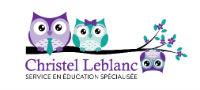 Christel Leblanc, Services en éducation spécialisée